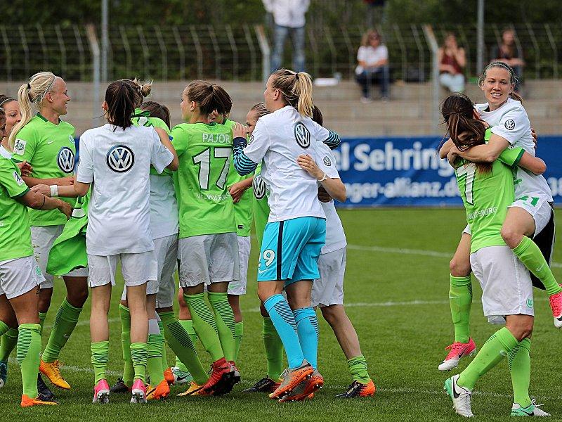 Fußball: Wolfsburg zum dritten Mal deutscher Frauenfußball-Meister