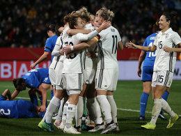 Siebter Streich! DFB-Frauen bauen Hrubesch-Serie aus