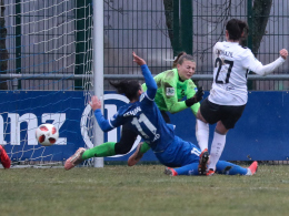 Potsdam siegt turbulent - Frankfurt mit Start-Ziel-Sieg