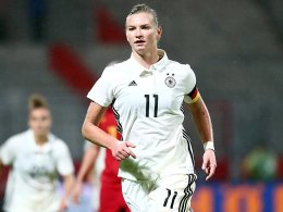 Popp neue Kapitänin der DFB-Frauen