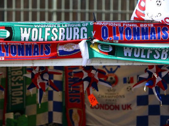 Fan-Schals des Finales