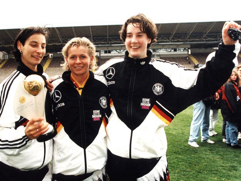Anf�hrerin, EM-Expertin, Weltmeisterin: Neids DFB-Karriere