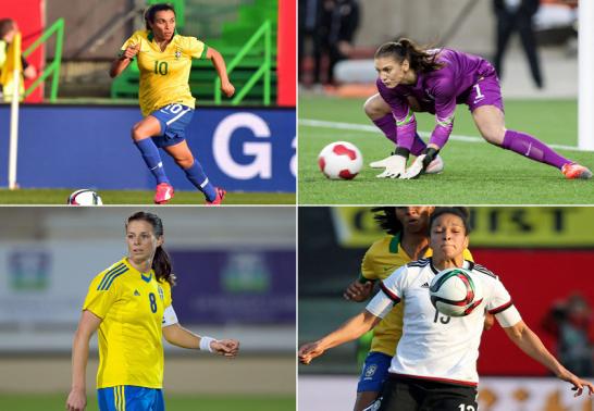Marta, Solo, Schelling und Sasic.