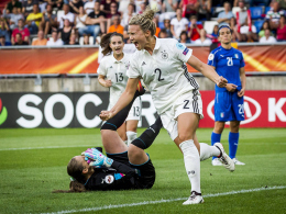 Zwei Verteidigerinnen schießen DFB-Team zum Sieg