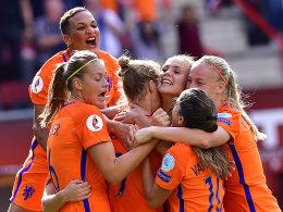 Miedema sorgt für historischen Oranje-Sieg