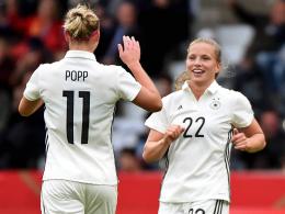 11:0 gegen Färöer - DFB-Frauen gelingt Rehabilitation