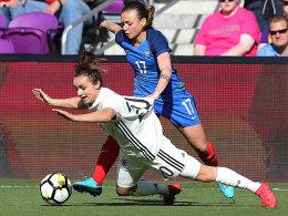 0:3! Frankreich zeigt den DFB-Frauen die Grenzen auf