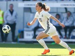 Dank Knaaks Jokertor: DFB-Frauen besiegen Kanada