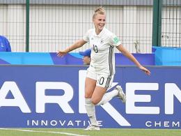 3:2 gegen Haiti: DFB-Juniorinnen holen WM-Gruppensieg