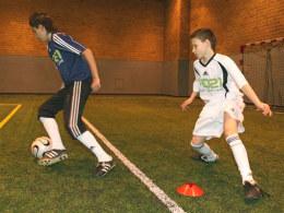 Trainingsübung Beckenbauer-Pirouette