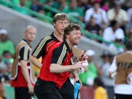 Auswahltrainer Steffen Freund erreichte Rang drei bei der U 17 Weltmeisterschaft.