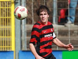 Christian Günter (Kapitän U 19 SC Freiburg)