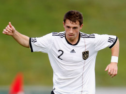 Pascal Itter im Dress der U-17-Nationalmannschaft