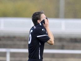 Pascal Wedemann (U19 Union Berlin) verzweifelt