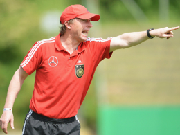 Nach drei Jahren ist Schluss: Steffen Freund bat den DFB um Vertragsauflösung.