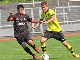 Spielszene Atlas Guadalajara gegen Borussia Dortmund