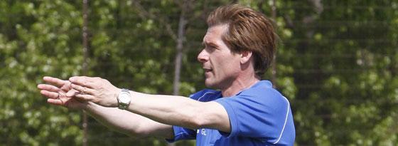 Bochums U-19-Trainer Dariusz Wosz