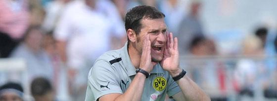 Sascha Eickel (U-19-Trainer Borussia Dortmund)