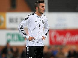 Erneut getroffen: der Liverpooler Yesil erzielte bereits sein achtes U-19-Tor.