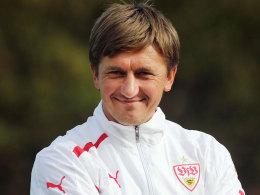 Ilija Aracic, A-Junioren-Trainer des VfB Stuttgart