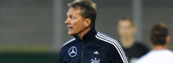 Frank Wormuth musste mit seiner U20 die erste Niederlage hinnehmen - 1:2 in Polen.