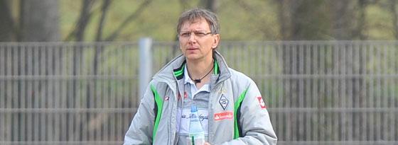 Thomas Flath, U-17-Trainer Borussia Mönchengladbach