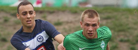 Nicht zu halten: Oliver Ihnken (U 19, Werder Bremen)