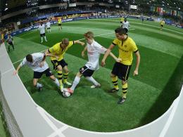 Fußballtalente unter sich: Prominente Nachwuchsteams messen sich in Sindelfingen.