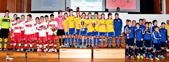 Siegerehrung beim Plana-Cup