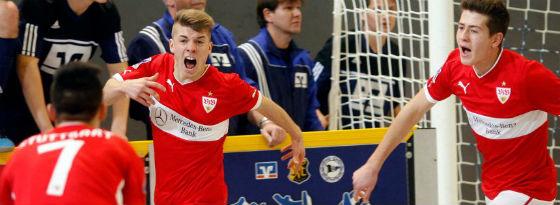 Echte Turniermannschaft: Der VfB Stuttgart drehte in den K.o.-Runden auf.
