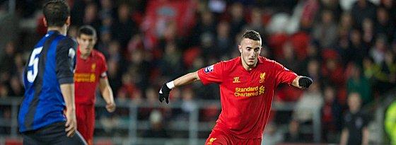 Steht vor einer monatelangen Pause: Samed Yesil vom FC Liverpool.