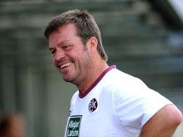 Gunther Metz, U-19-Trainer 1. FC Kaiserslautern