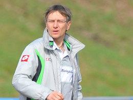 Sah sechs Tore seines Teams - aber auch drei Gegentreffer: Gladbachs Trainer Thomas Flath.
