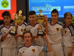 Sicherte sich den Graf-Hardenberg-Cup 2015: Die U 14 des FC Basel.