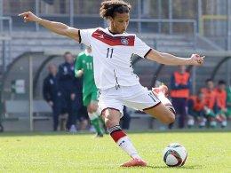 Doppeltorschütze gegen Tschechien: Leroy Sané vom FC Schalke 04.