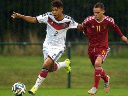 U 16 gewinnt souver�n gegen Belgien