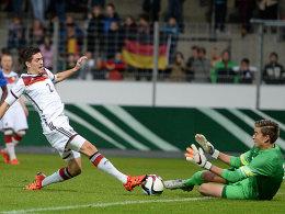 Deutsche U 19 schenkt Klinsmann Junior acht Tore ein