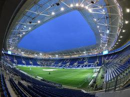 Gro�e B�hne f�r die Rhein-Neckar-Arena
