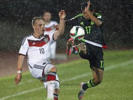 U 17 verpasst Gruppensieg - Achtelfinale gegen Kroatien