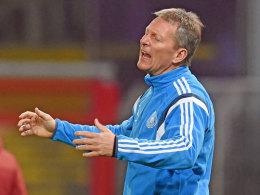Vor dem Polen-Spiel: Wormuth ist frustriert