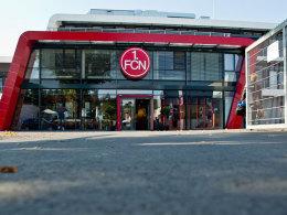 Das neue Vereinsgebäude des 1. FC Nürnberg.