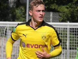 Setzte beim BVB-Erfolg den Schlusspunkt: Jacob Bruun Larsen.