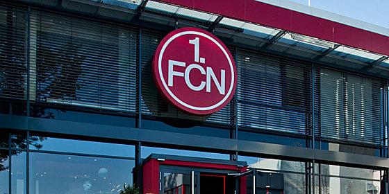 Das Vereinsgebäude des 1. FC Nürnberg.