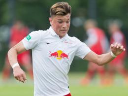 Legte den Grundstein für den Sieg: Renat Dadashov (RB Leipzig).