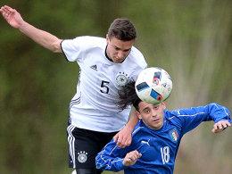 Prestigesieg f�r deutsche U16 gegen Italien