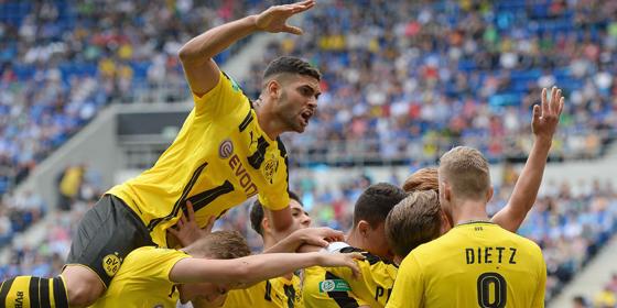 Grund zur Freude: Der Nachwuchs des BVB ist deutscher Meister.