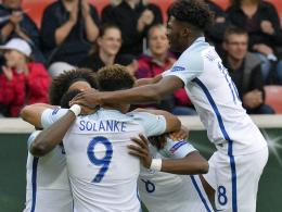 Start nach Maß für England und Oranje