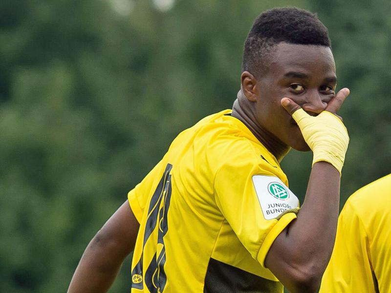 Wunderkind: Mit 12 Jahren im DFB- U16- Kader
