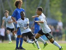 Deutsche U 17 verliert gegen Italien