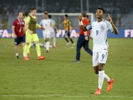 Auch ohne Sancho: Brewster beschert England das Finale
